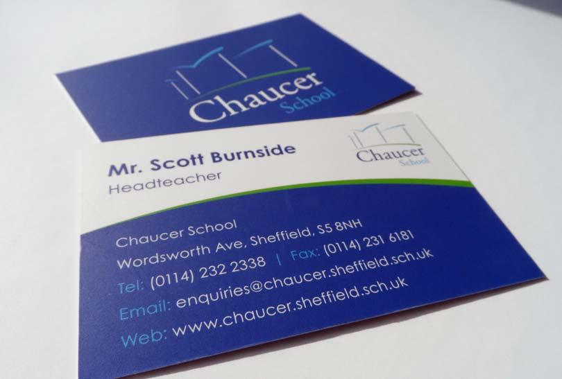 chaucer-business-card-design