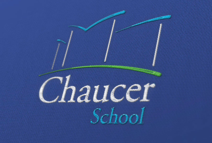 chaucer-embroidered-logo
