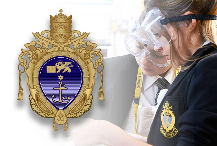 st-pius-x-school-crest