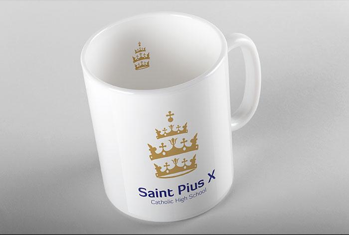st-pius-x-school-mug
