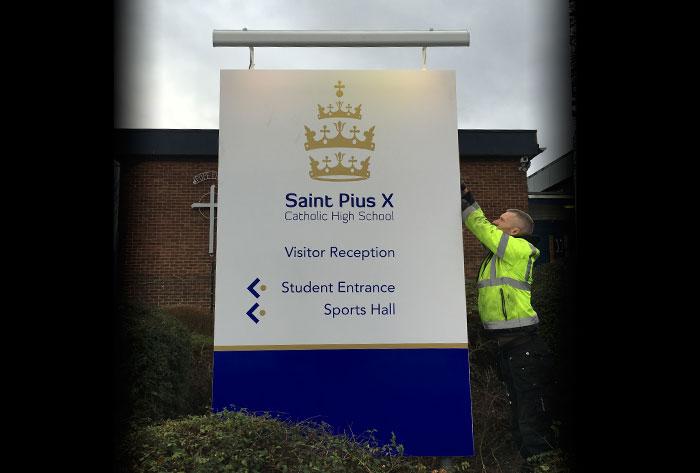 st-pius-x-school-signage2