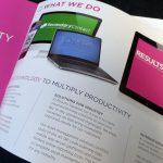 promo brochure design