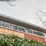 illuminated signage HMT Sancta Maria hospital